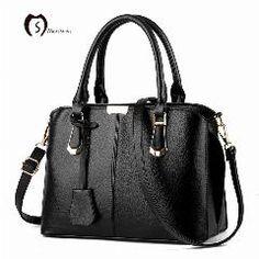 [ 29% OFF ] Moreshine New Women Leather Handbags Casual Tote Bags Fashion Famous Brands Design Women Shoulder Bag Female Zipper Bag Bolsas