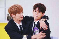 Wanna One 옹성우 (Ong Seongwoo) 강다니엘 (Kang Daniel) Daniel 3, Le Net, Dancing King, Ong Seongwoo, Produce 101 Season 2, Woo Young, Kim Jaehwan, Ha Sungwoon, Happy Together