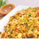 Quinoa pilaf with coconut, raisins and lime ~ Essence of Living