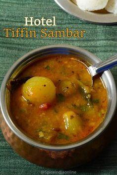 Hotel Sambar - Hotel Sambar recipe, Tiffin Sambar recipe, ஹோட்டல் சாம்பார், How to - Indian Veg Recipes, Indian Snacks, Asian Recipes, Indian Appetizers, Veg Breakfast Recipes Indian, Sambhar Recipe, Idli Recipe, Curry Recipes, Vegetarian Recipes