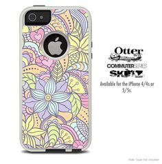 The Subtle Abstract Flower Pattern Skin For The by TheSkinDudes
