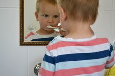 Brushing teeth, washing hands, bath time - a bathroom for a toddler