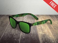 1f43ec112f6 Sunglasses Free PSD Mockups – ApeMockups Psd Templates