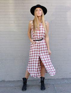 How To Wear A Button Front Shirt Dress: http://www.swankboutiqueonline.com/blog