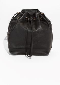 & Other Stories | Sauvage Leather Bucket Bag