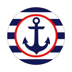 Nautical Baby Shower Decorations, Nautical Cupcake, Nautical Party, Navy Party, Cupcake Decorations, Foto Software, Anchor Cupcakes, Navy Baby Showers, Sailor Party