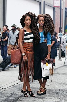 incoffeeandcigarettes: TK Wonder and Cipriana Quann Photo by. (Riches for Rags) Spring Hairstyles, African Hairstyles, Afro Hairstyles, Updo Hairstyle, Hairstyle Ideas, Wedding Hairstyles, Quann Sisters, Sara Foster, Big Afro