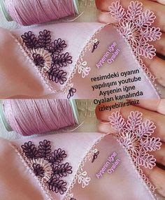 Crochet Unique, Crochet Lace Edging, Crochet Borders, Needle Tatting, Tatting Lace, Needle Lace, Crochet Hammock, Crochet Bedspread, Embroidery Patches