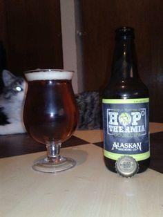 """Double IPA from Alaskan - """"Beer Powered Beer."""""""