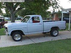 1981 Ford F100 4x2 - 81 F100