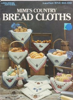 Mimi's Country Bread Cloths 10 designs for by beththebooklady, $3.99