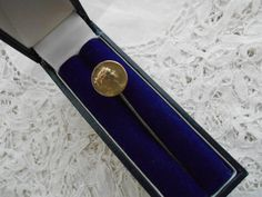 Antique stick pin 1910 signed by Nkempantiques on Etsy, €12.25