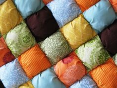 puff quilts: a new take on an old favorite