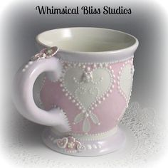 Whimsical Bliss Studios - Sweet Hearts Mug