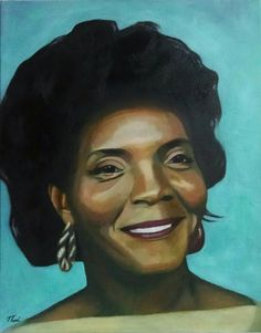 Thad Cox -Clayton's Mother, oil on canvas, 11x14