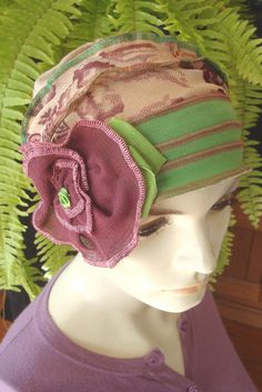Womens Hats for Chemo Headwear Soft Hat by GypsyLoveHeadbands, $45.00