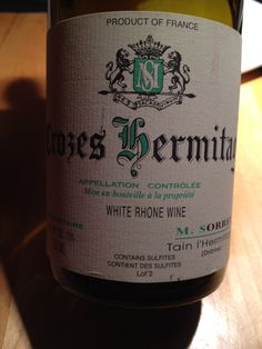 Excellent - Marc Sorrel Crozes Hermitage