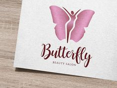 Butterfly Logo by IKarGraphics on @creativemarket