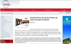 #vinhosdotejo #winesoftejo #cvrtejo 'Caravana dos Vinhos do Tejo' - 'Grande Prova Anual de Vinhos do Tejo' no Site Coluna de Turismo.
