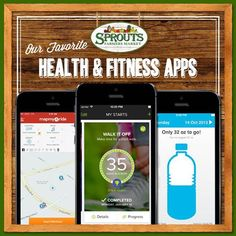Our top five health and fitness apps to keep you on track.