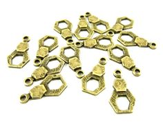 Cool brass charms