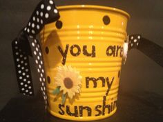 Sunflower starter kit in fun bright yellow polka dot by Bedotted, $10.00