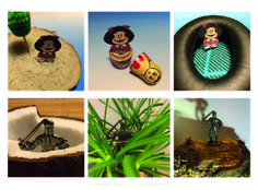 Week 3: Tiny adventures - Mafalda on an island, in a cocoon and in a boat - The knight in his castle, the jungle and at the holy grail