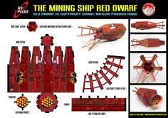 Red Dwarf - Model by ~mikedaws on deviantART