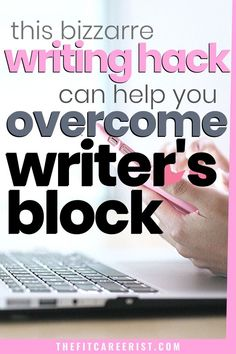 But I can almost guarantee that you haven't heard of this writing hack yet. If you need to get more written in less time, you need to read this! Pre Writing, Writing Jobs, Writing Advice, Start Writing, Writing A Book, Writing Portfolio, Work From Home Opportunities, Writer's Block, Article Writing