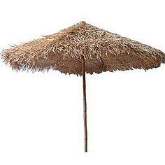 Thatched 7-foot Umbrella (Vietnam)   Overstock.com