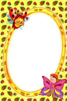 Mushroom Crafts, Boarders And Frames, Cute Frames, Borders For Paper, Photos, Pictures, Scrapbook, Invitations, Pattern