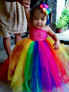 Rainbow tutu                                                                                                                                                      More