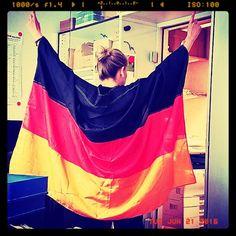 Wir sind schon richtig in Stimmung und fiebern dem heutigen Deutschlandspiel entgegen. Und Ihr? #EURO2016 #NIRGER #EM2016 #Fußball