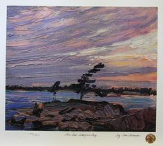 "Tom THomson ""The Gap,  Georgian Bay"""