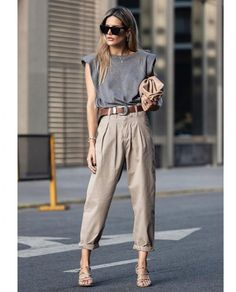 Casual Chic Outfits, Casual Chic Fashion, Looks Style, Casual Looks, Work Fashion, Fashion Looks, Mode Outfits, Fashion Outfits, Look Chic