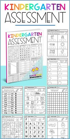 Print this free kindergarten assessment pack to use as end of the year testing for your kindergarten students. This is a great way to see where your students are at, and find any areas for development.