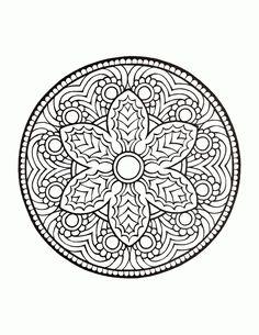 Mystical Mandala Coloring Book   mandalas