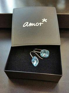 b1fa11cd3 Swarovski Crystal sterling silver 925 earrings #amoraustralia #amorjewellery
