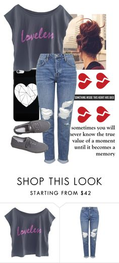 """""""read d. if you dont mind.."""" by queen-hstyles ❤ liked on Polyvore featuring The Vintees T-Shirts Co., Topshop and Keds"""