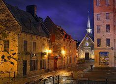Place Royale, Quebec City, Quebec, Canada., via Flickr.