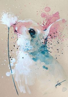 Tilen Ti - Bunny watercolor with gouache painting art print Animal Paintings, Animal Drawings, Art Drawings, Easter Drawings, Animal Art Prints, Art Paintings, Gouache Painting, Painting & Drawing, Bunny Painting