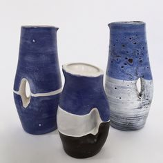 Mado Jolain - Set of Ceramic Vases                                                                                                                                                      More