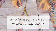 VIDEO TUTORIAL PATRON BASE DE FALDA