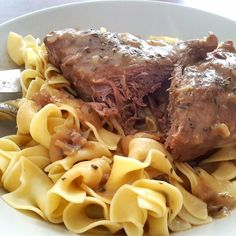 """Awesome Slow Cooker Pot RoastI """"This is your tried-and-true, just like your grandma made it, lick the gravy ladle, pot roast. """""""
