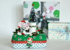 Christmas Mouse Pincushion
