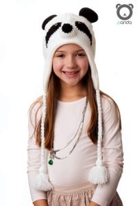 Panda Hat Knit - $21.95