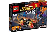 LEGO Super Heroes Spider-Man: Ghost Rider Team-up - 76058, read reviews and buy online at George at ASDA. Shop from our latest range in Kids. Keep the street...