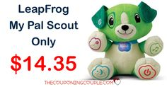 Awesome gift for the little ones! And it is only $14.35! The LeapFrog My Pal Scout is a great learning toy! It is selling out everywhere fast!  Click the link below to get all of the details ► http://www.thecouponingcouple.com/leapfrog-my-pal-scout/ #Coupons #Couponing #CouponCommunity  Visit us at http://www.thecouponingcouple.com for more great posts!