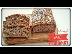 Domácí bezlepkový chléb | VEGAN - YouTube Jin, Banana Bread, Youtube, Desserts, Food, Tailgate Desserts, Deserts, Essen, Postres