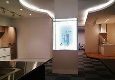 にしもとのりおの針金アート 永大産業大阪ファクトリーショウルーム